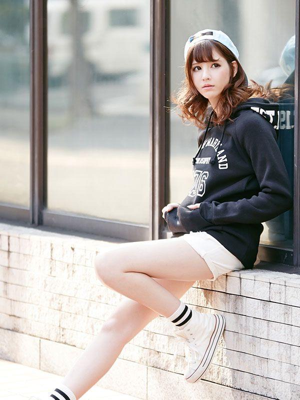 [裏起毛プリントパーカー長袖ワンピース MR GL]【2015AW】【MV】 夢展望