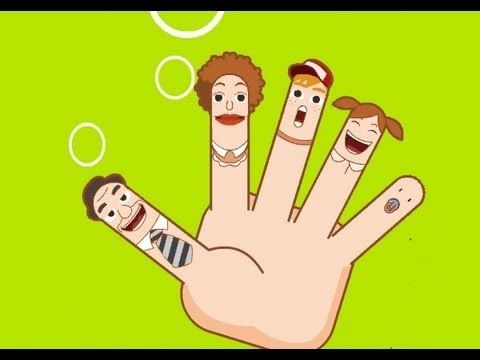 Muffin Songs - The Finger Family (Daddy Finger) | nursery rhymes & children songs with lyrics | muffin songs