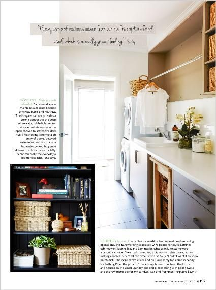 Homes - clipped from page 113 of Home Beautiful, Jul 2014 issue by the Netpage app.