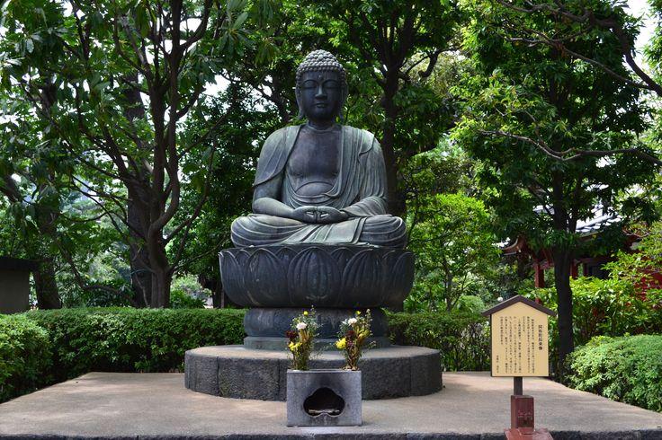Mein erster Buddah. Hier: Sensō-ji #Tempel in #Tokyo   #Japan http://www.funkloch.me/senso-ji-tempel-in-tokyo-japan-asientrip/ #asientrip