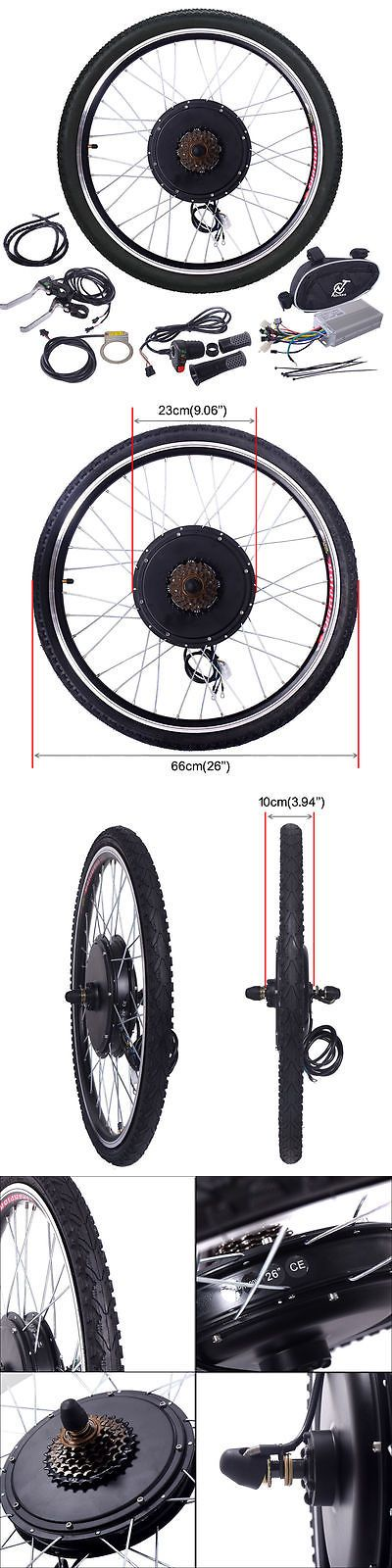 Electric Bicycles 74469: 48V 1000W Electric Bicycle Cycle E Bike 26 Conversion Kit Hub Motor Rear Wheel -> BUY IT NOW ONLY: $150.09 on eBay!