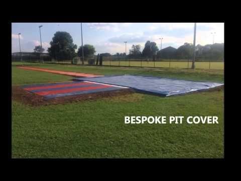 http://longjumprunway.co.uk/ School Triple Jump Pit In Essex - YouTube