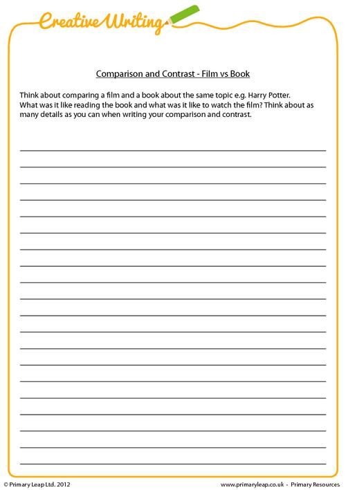 31 best creative writing printable worksheets images on pinterest creative writing essay. Black Bedroom Furniture Sets. Home Design Ideas