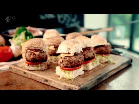 Мини бургеры со свининой и соусом барбекю  . Рецепт Гордона Рамзи - YouTube