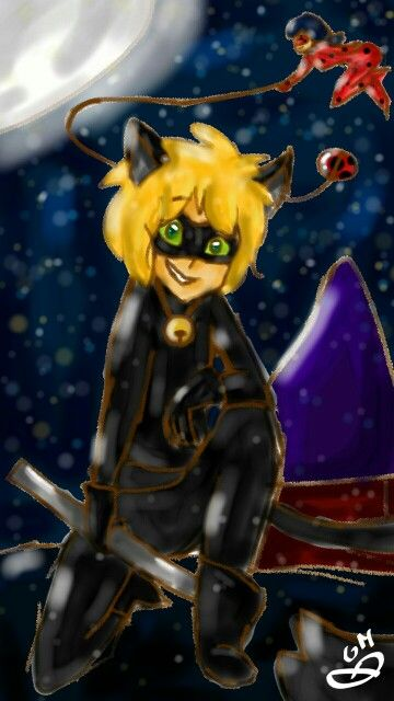 Cat noir y ladybug