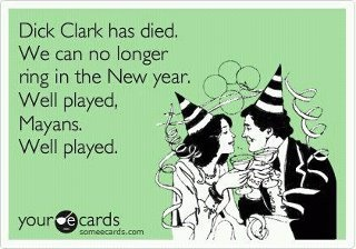 well played Mary you were right...Dickclark, Funny Things, Laugh, Dick Clark, Well Plays, Funny Stuff, Humor, New Years Eve, So Funny