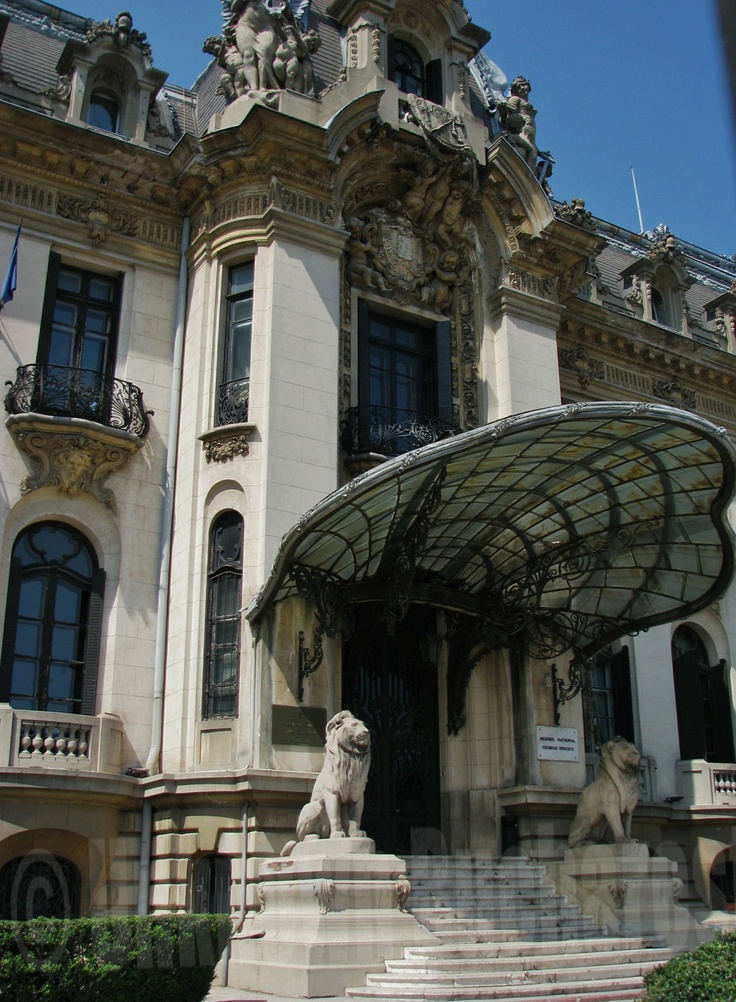 Cantacuzino Palace, Bucuresti, Romania