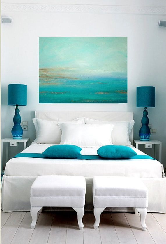 10 Beautiful Turquoise Bedroom Decorating Ideas | Elsafana:
