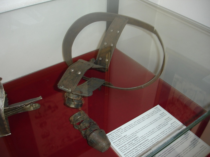 Prague-Museum-of-Medieval-Torture-Male-Chastity-Belt I'm glad men wore them too!!