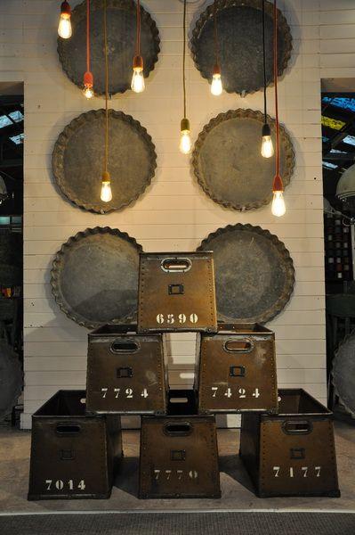 set of 6 suroy boxes c .1930 Espace Nord Ouest