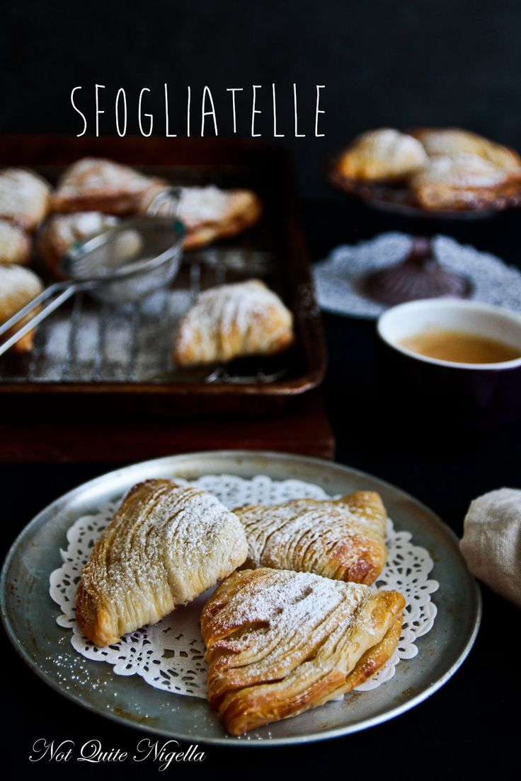 Sfogliatelle - best Italian pastry filled with pastry cream. Could eat a box of them right now!