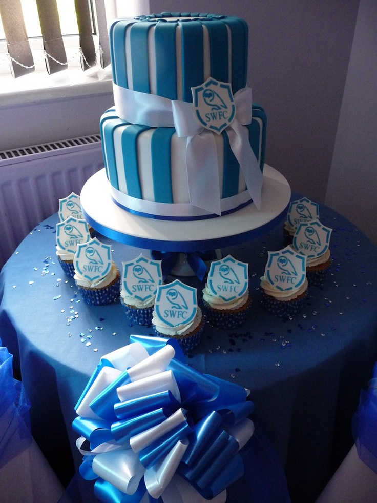 wedding cake sheffield swfc wedding cake sheffield wednesday x 24489