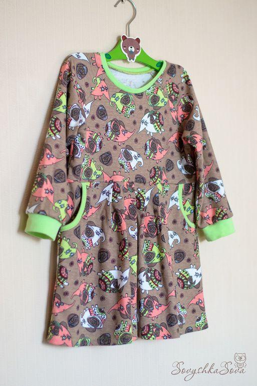 Платье в садик. - Рукоделие - Babyblog.ru
