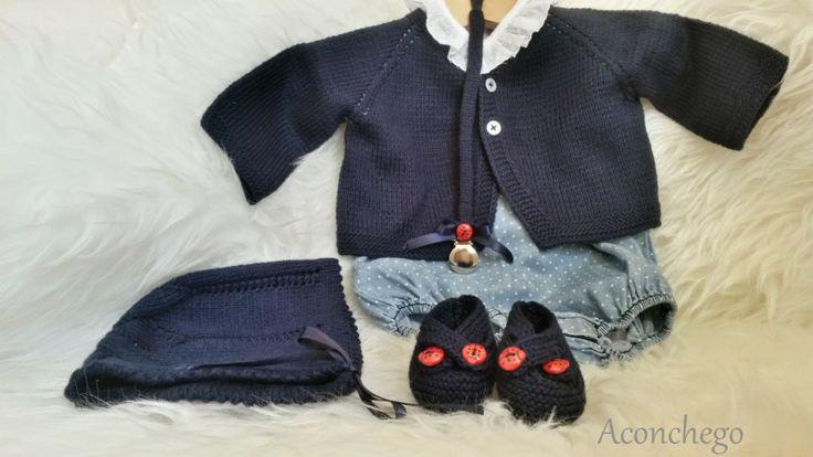 Aconchego: Mais Baby knits