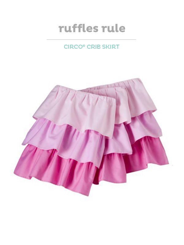 1000 Ideas About Ruffled Crib Skirts On Pinterest Crib