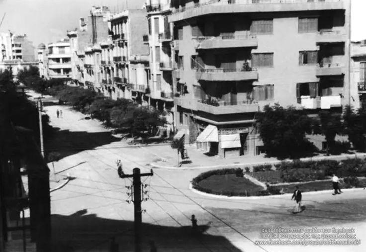 Thessaloniki in the early 20th century. Palaion Patron Germanou - Pavlou Mela #LocalThessaloniki