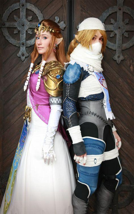 Legend Of Zelda Zelda Cosplay Princess Zelda Sheik Anime Boston