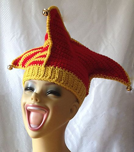 Crocheted by Lori!  Ravelry: Silly Court Jester / Elf Hat Crochet pattern by Darleen Hopkins #CbyDH