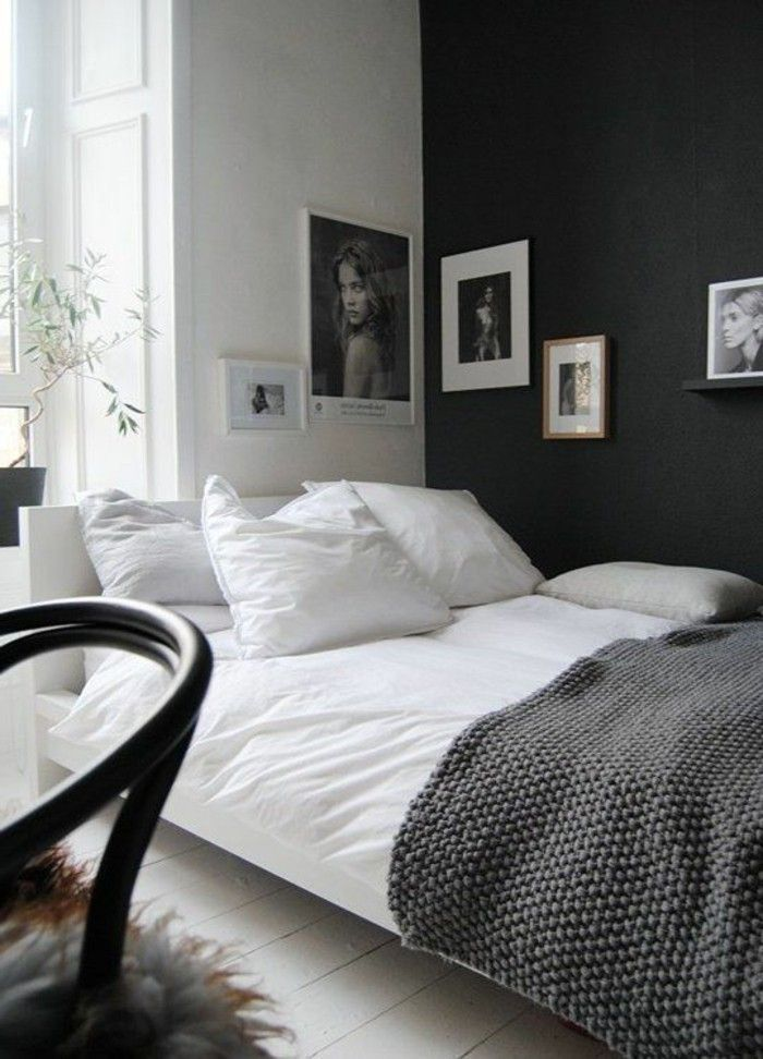 Schlafzimmer Wandfarbe Ideen In 140 Fotos Small Apartment