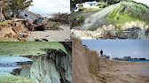 BEACHES AND CLIFFS ARE WASHING AWAY