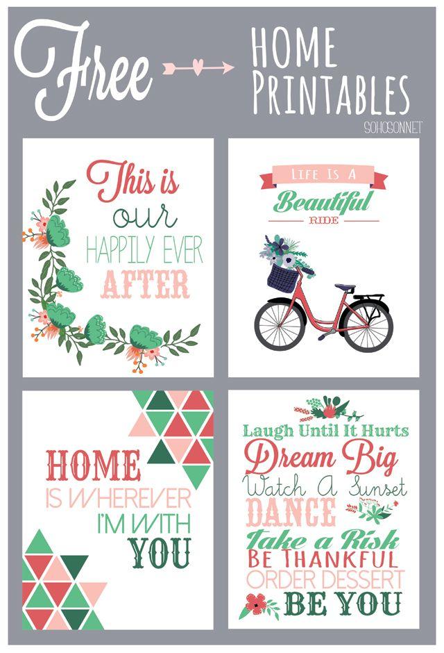 Free Home Printables