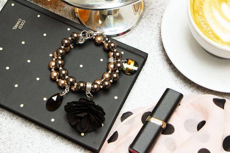 Beaded Bracelet, Pearl Bracelet, Pearl Jewelry, Swarovski Jewelry, Swarovski Pearls, Bracelet For Women, Beaded Jewelry, Charm Bracelet, Swarovski pearl bracelet, Swarovski crystal bracelet, Swarovski jewelry, Christmas gift for women, Christmas gift for friend, Anniversary gift, Christmas gift for girlfriend, Gift for coworker, Handmade bracelet, Handmade gift, Luxury gift, Elegant jewelry, Unique gift, Christmas ideas, New year bracelet by BGElegance