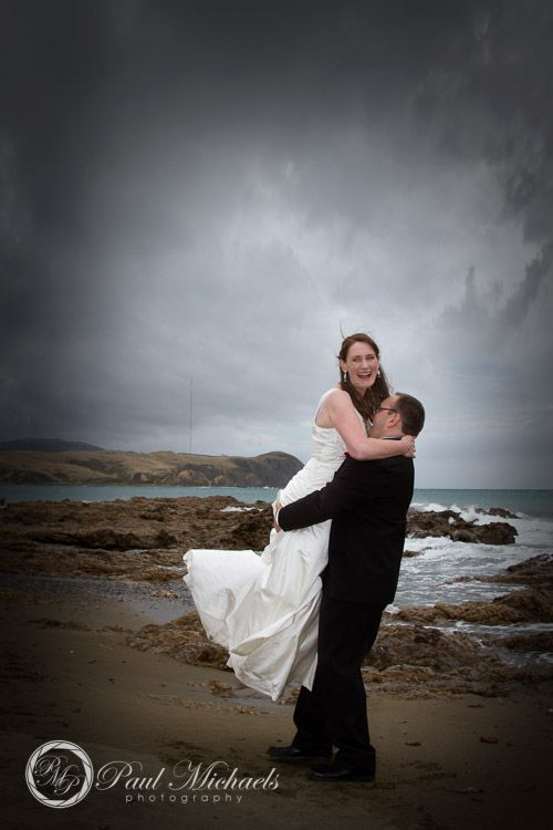 Plimmerton wedding photos. PaulMichaels Wellington wedding photography http://www.paulmichaels.co.nz/weddings/