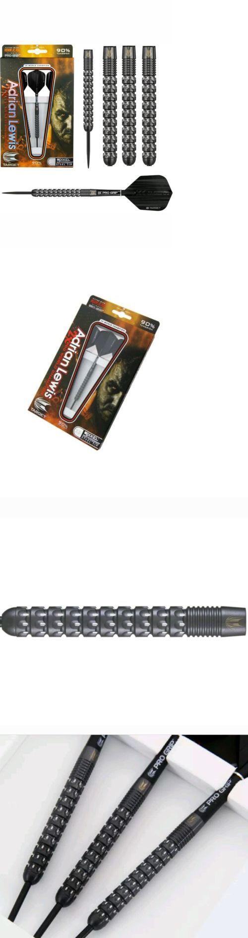 Darts-Steel Tips 26332: Adrian Lewis 23G Black Pixel Darts. U.S. Seller -> BUY IT NOW ONLY: $83 on eBay!