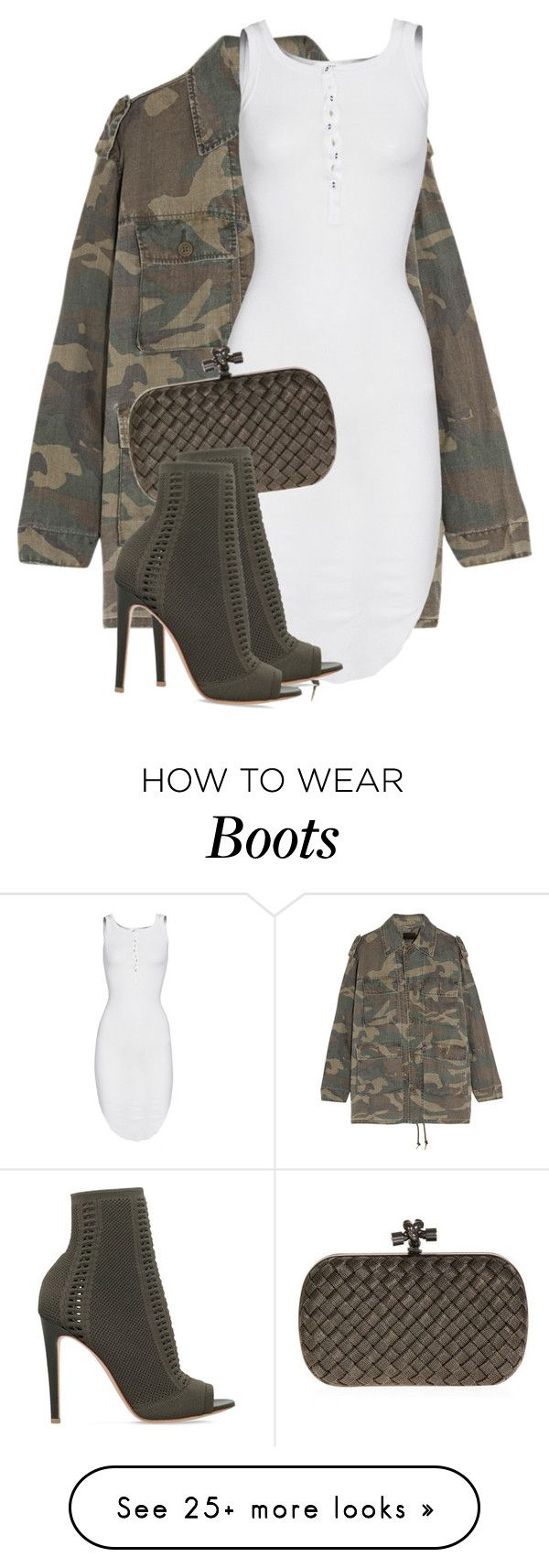 """Untitled #3502"" by xirix on Polyvore featuring Yves Saint Laurent, ISABEL BENENATO, Bottega Veneta and Gianvito Rossi"