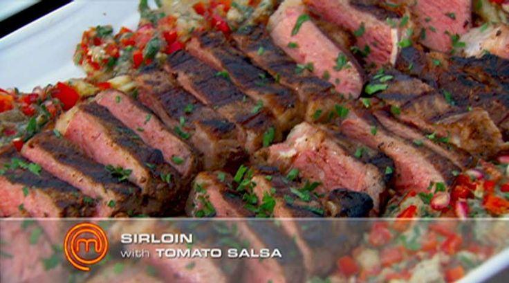 Spiced Sirloin Steaks