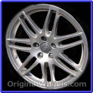 OEM 2008 Audi A3 Rims - Used Factory Wheels from OriginalWheels.com #Audi #AudiA3 #A3 #2008AudiA3 #08AudiA3 #2008 #2008Audi #2008A3 #AudiRims #A3Rims #OEM #Rims #Wheels #AudiWheels #AudiRims #A3Wheels #steelwheels #alloywheels