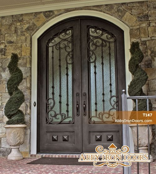 Complete your house with a beautiful iron door from Abby Iron Doors. & 165 best Mediterranean Doors images on Pinterest   Mediterranean ... pezcame.com