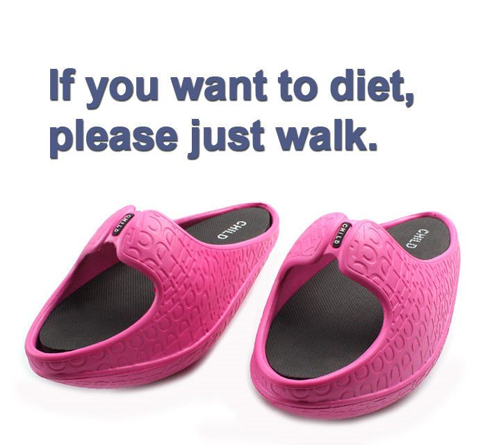 If you want to diet, just walk balance Sandals Diet slippers Office Sandals  #CHILD