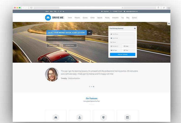 Mejores 19 imágenes de Templates WordPress para Advogados en ...