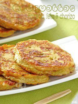 croquettes de poireau feta chorizo