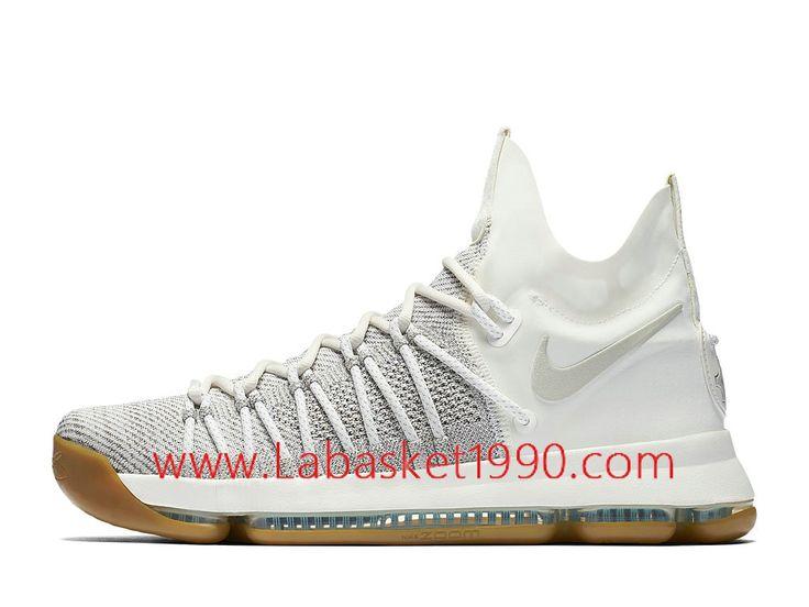 nike kd 9 elite lvory 878637001 chaussures nike prix pas cher pour homme blanc brun