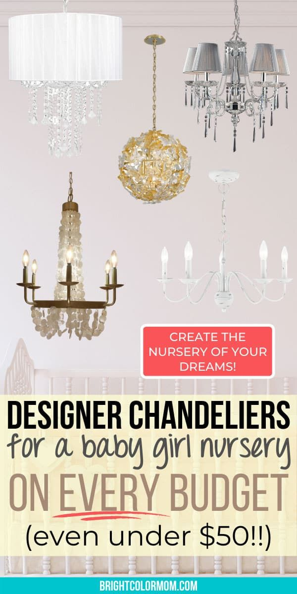 Roundup Pick The Perfect Chandelier For Baby Girl Nursery Decor