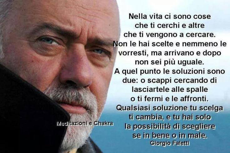 Ricordando Giorgio Faletti, un uomo saggio che ci ha lasciato un'eredità di pensieri. Nicoletta Lastella