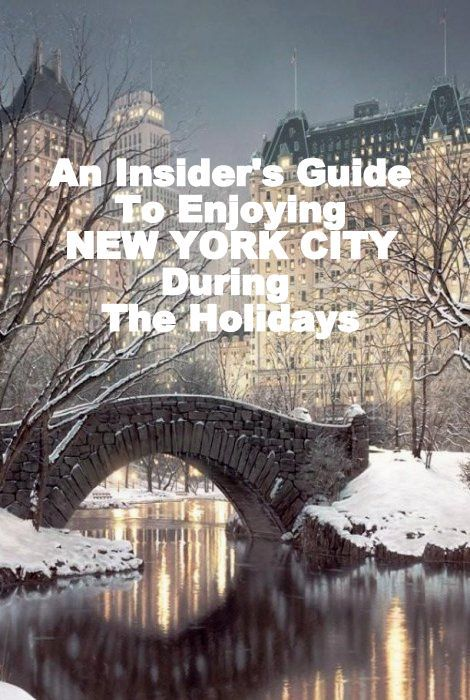 An Insider's Guide to Enjoying NYC During the Holidays #stylebytiffani