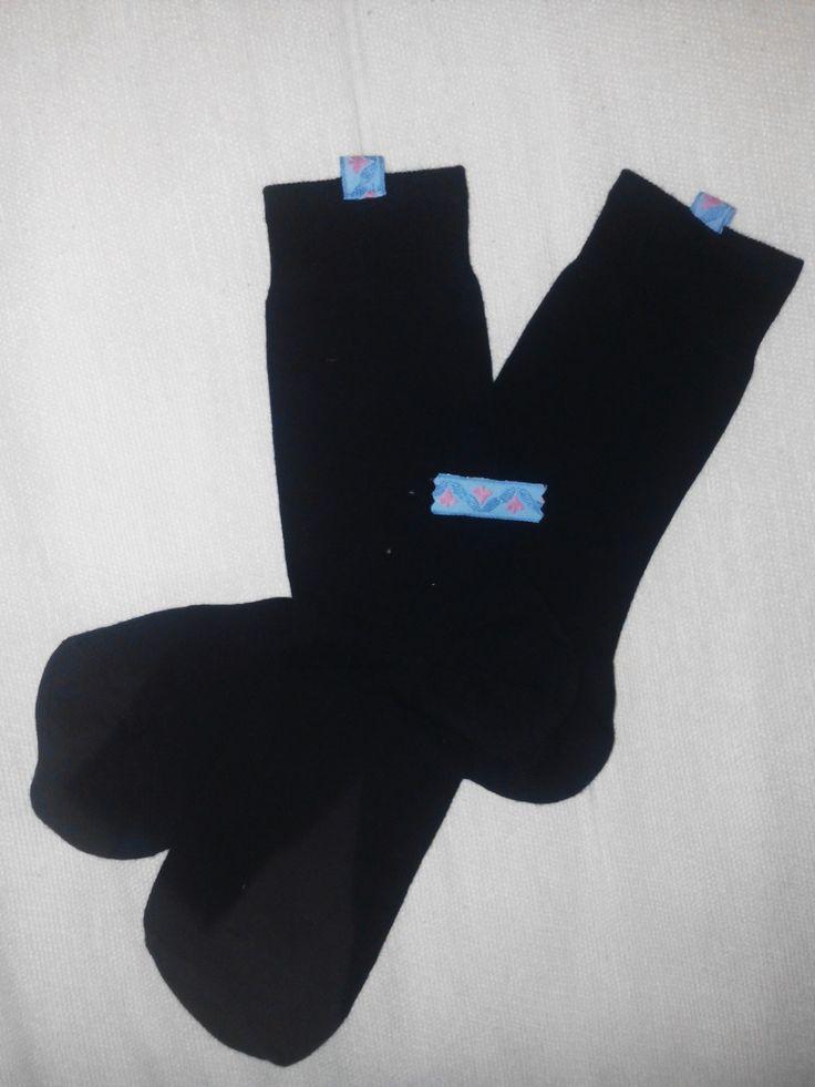 Diy truco para diferenciar mis calcetines negros de los de mi pareja
