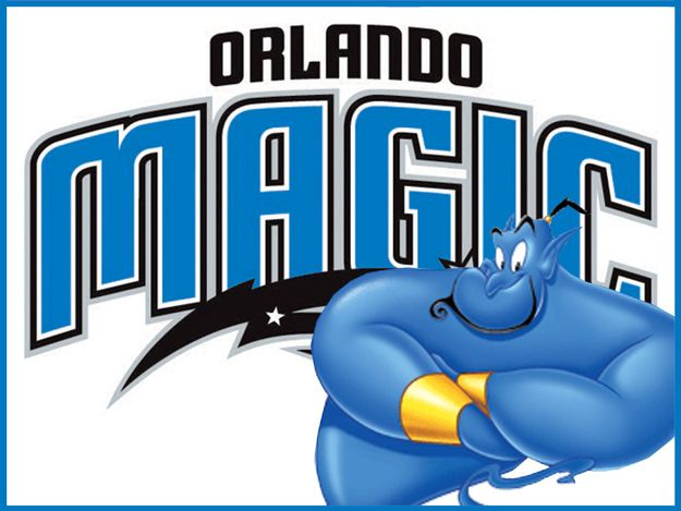 What If Disney Designed Every Sports Team's Logo? Orlando Magic