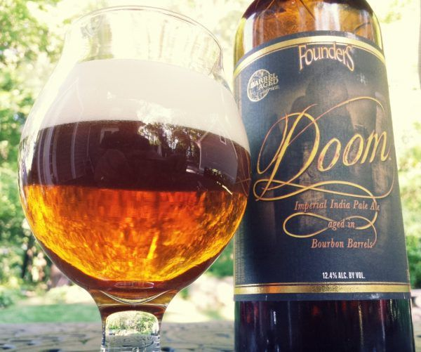 Doom Backstage Series Founders Brewing, Barrel-Age Imperial (Triple) IPA