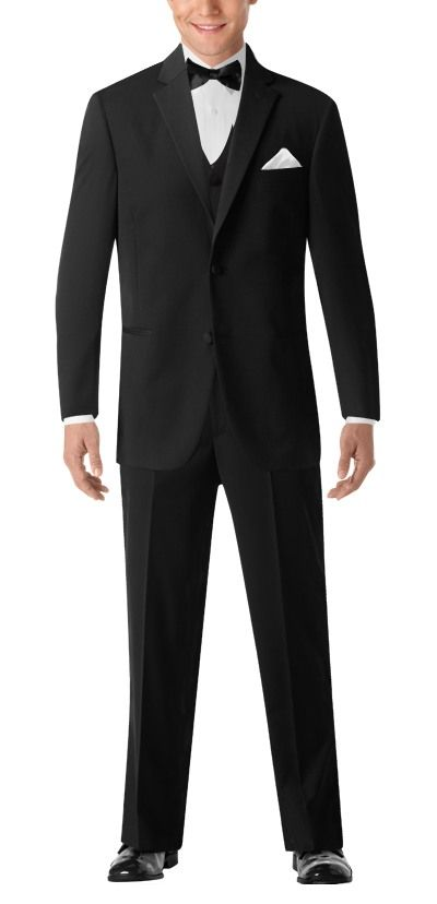 d0c6ea29199 BLACK By Vera Wang Black Notch Lapel Tuxedo