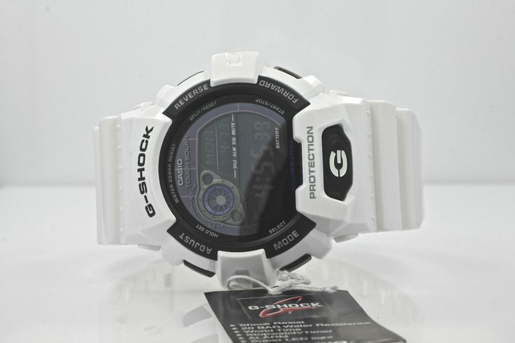 Men's Casio G Shock White Solar Watch GR 8900A 7 | eBay