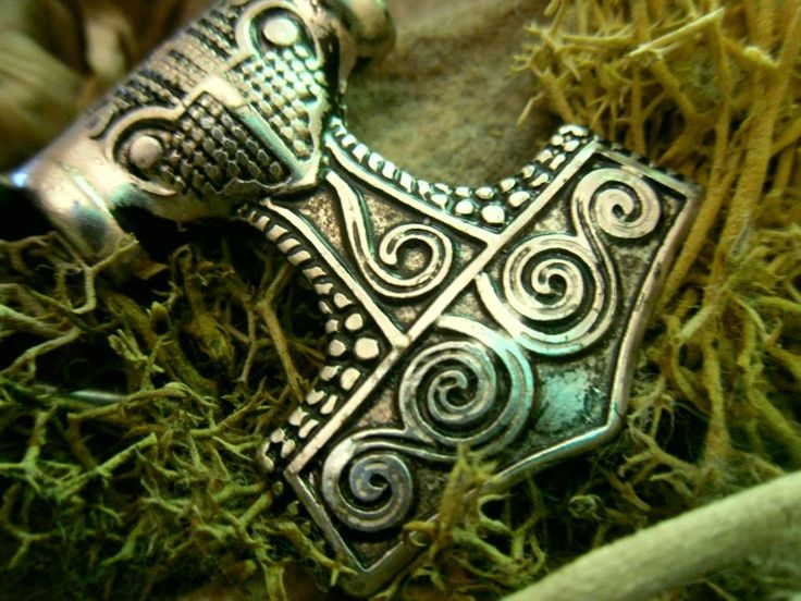 Mjolnir - Thor's Hammer Pendant