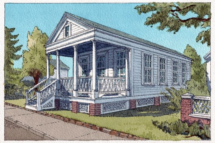 Katrina Cottage Viii Was The First Kc To Expand Easily