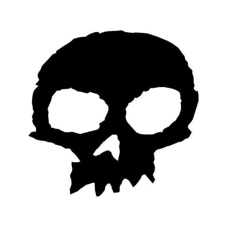 Zero Skateboard Skull Vinyl Decal Sticker  BallzBeatz . com
