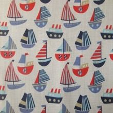 Boats Fabric available at @SewScrumptious