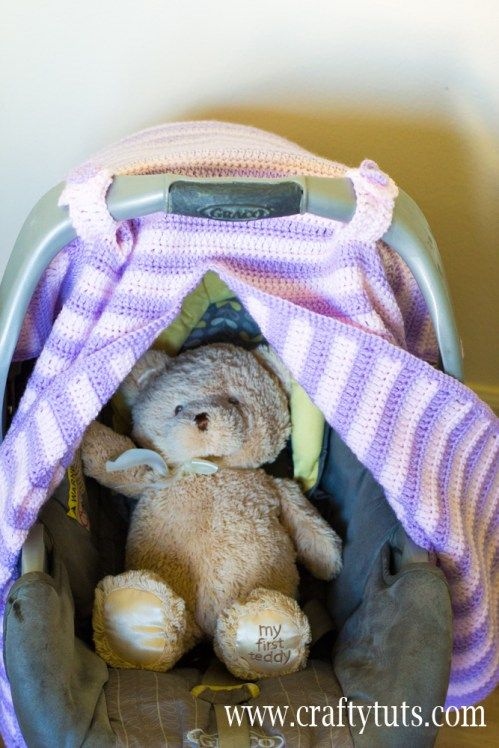 Free Crochet Pattern For Baby Car Seat Cover : crochet baby items on pinterest crochet car car seat ...