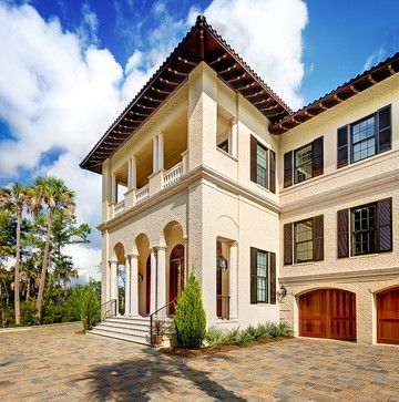 21 best images about exterior paint schemes with stucco for Mediterranean stucco